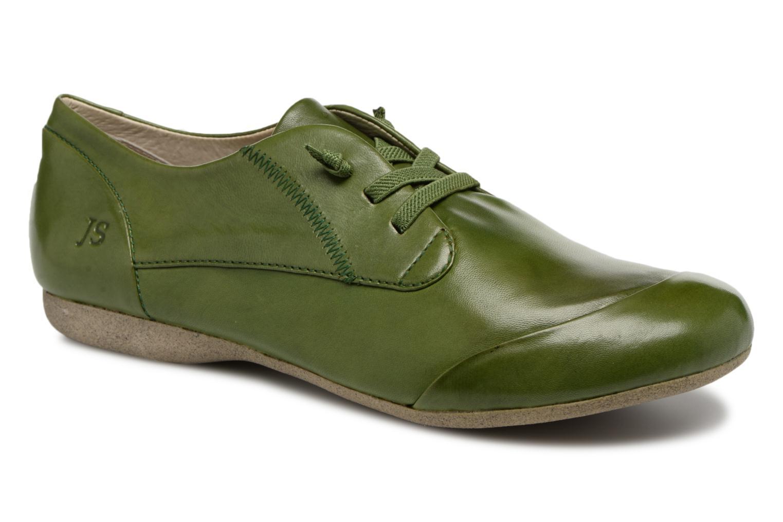 Zapatos con cordones Josef Seibel Fiona 01 Verde vista de detalle / par