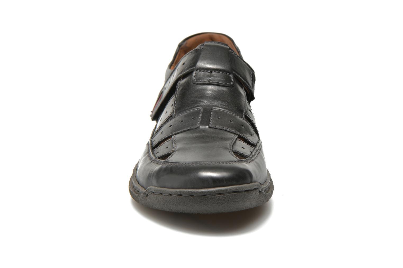 Sandales et nu-pieds Josef Seibel Milo 07 Noir vue portées chaussures