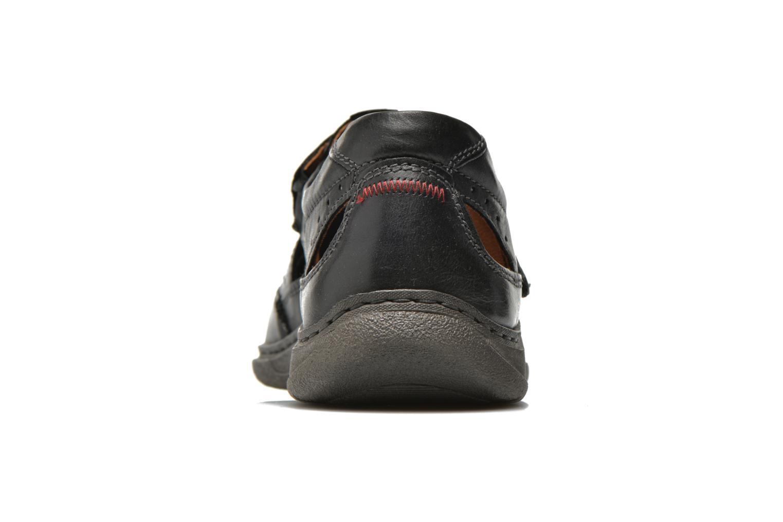 Sandales et nu-pieds Josef Seibel Milo 07 Noir vue droite