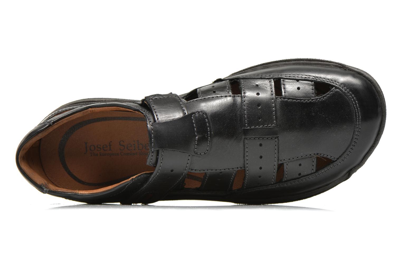 Sandales et nu-pieds Josef Seibel Milo 07 Noir vue gauche