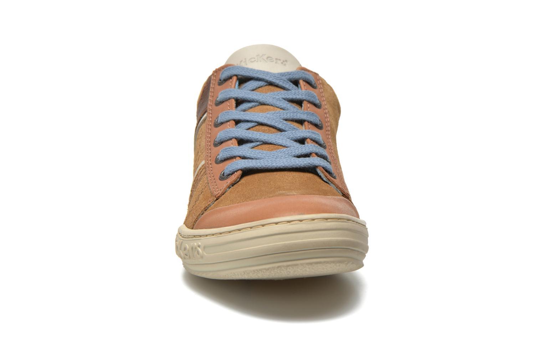 Sneaker Kickers JEXPIRE braun schuhe getragen