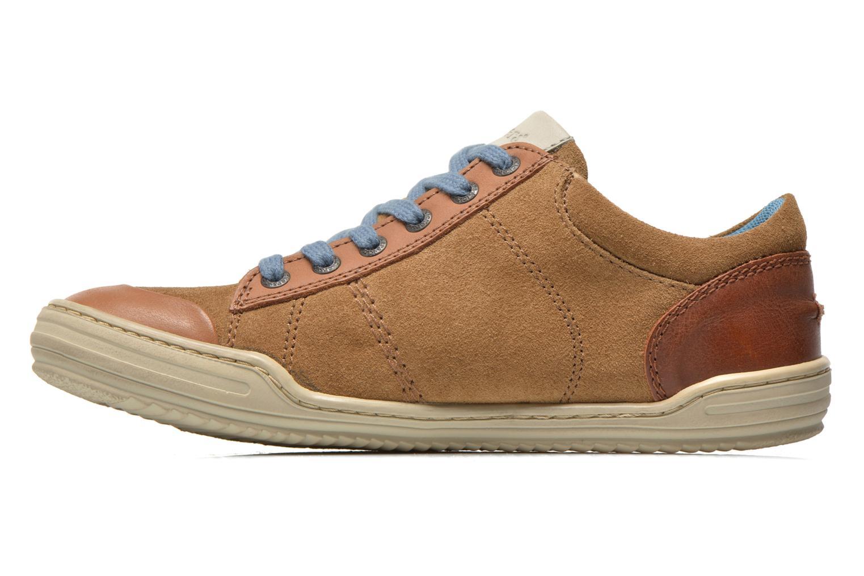 Sneaker Kickers JEXPIRE braun ansicht von vorne