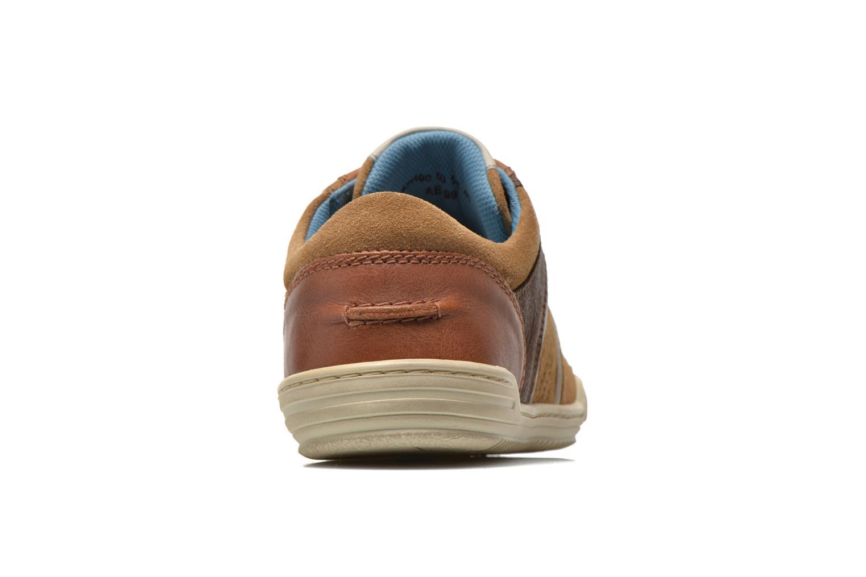 Sneaker Kickers JEXPIRE braun ansicht von rechts