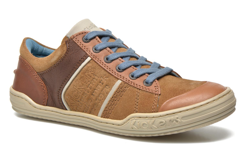 Sneaker Kickers JEXPIRE braun detaillierte ansicht/modell