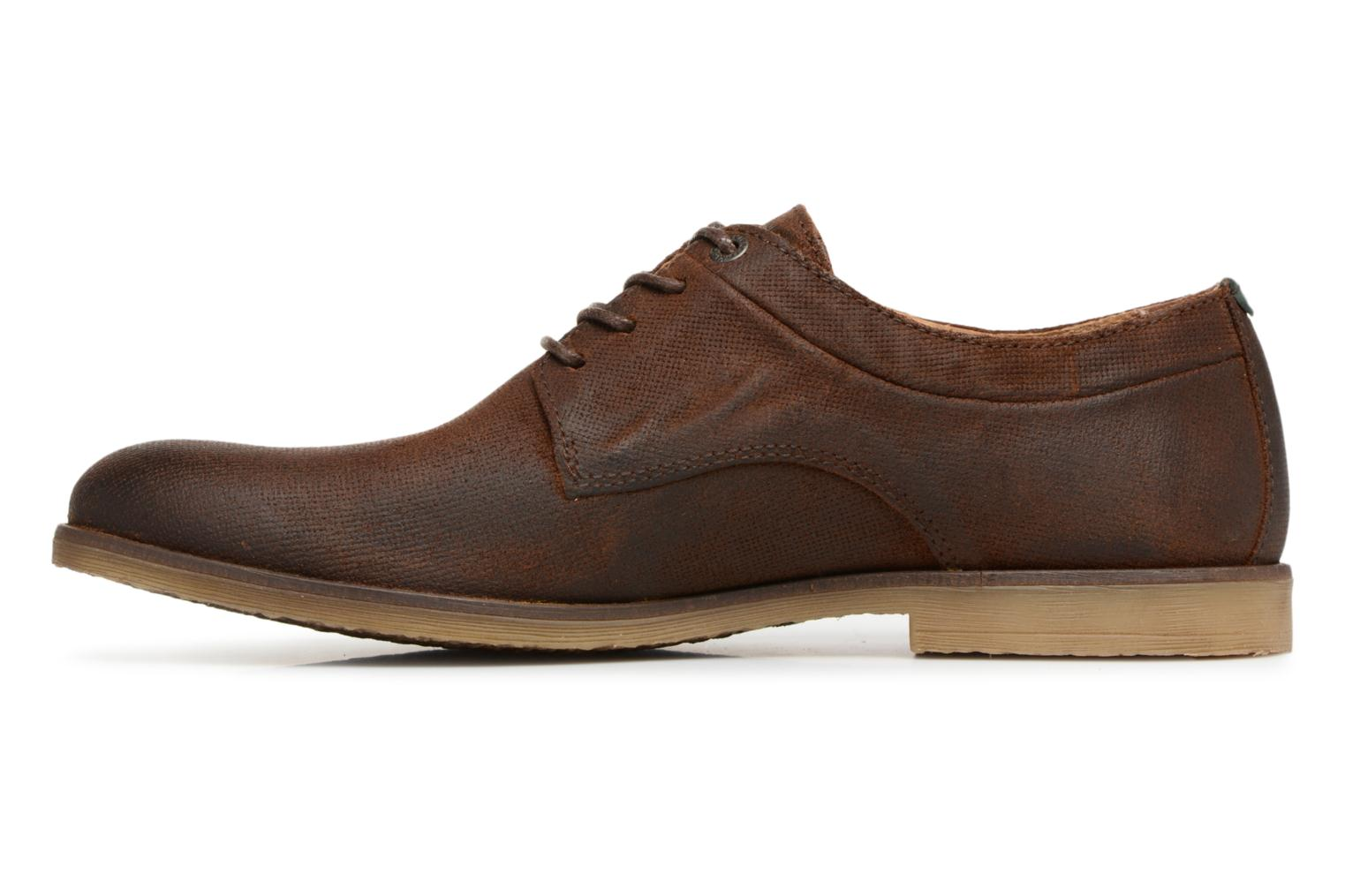 Chaussures à lacets Kickers FLAVESTON Marron vue face