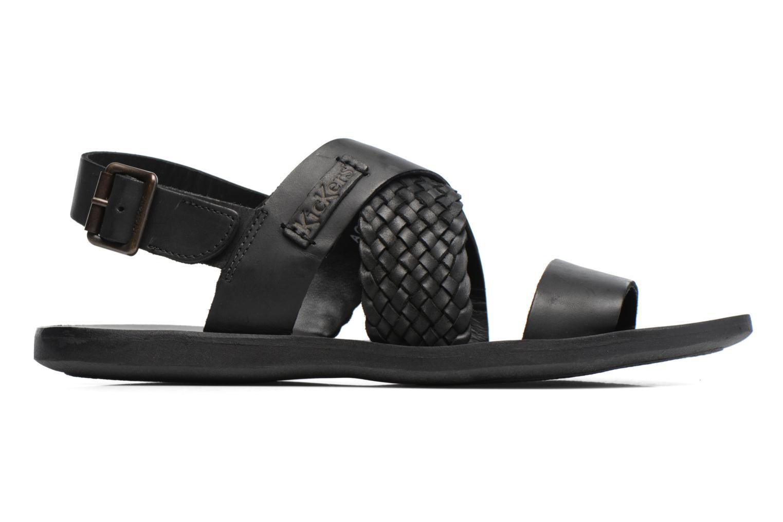Sandales et nu-pieds Kickers MARVEUS Noir vue derrière