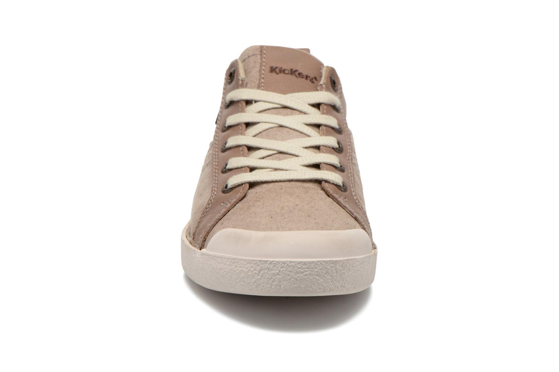 Sneakers Kickers TRIDENT Beige model