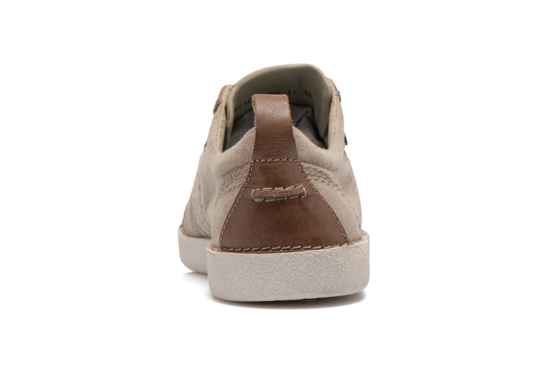 Sneakers Kickers TRIDENT Beige rechts