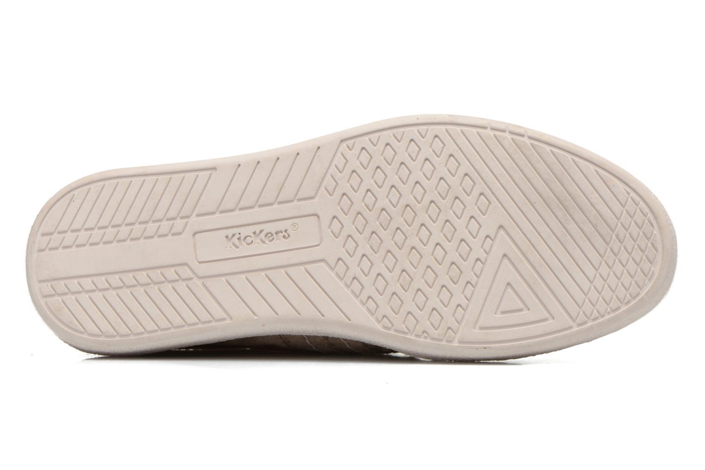 Sneakers Kickers TRIDENT Beige bild från ovan
