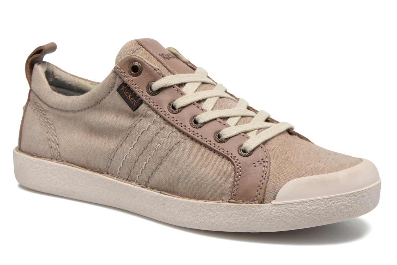 Sneakers Kickers TRIDENT Beige detail