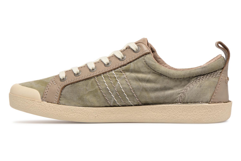 Sneakers Kickers TRIDENT Groen voorkant