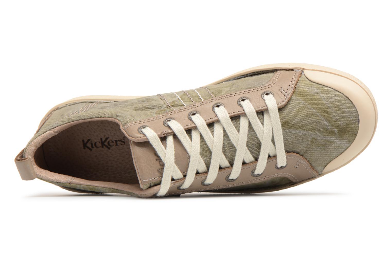 Sneakers Kickers TRIDENT Groen links