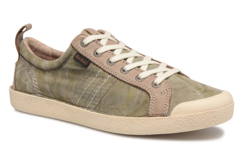 Sneakers Kickers TRIDENT Groen detail