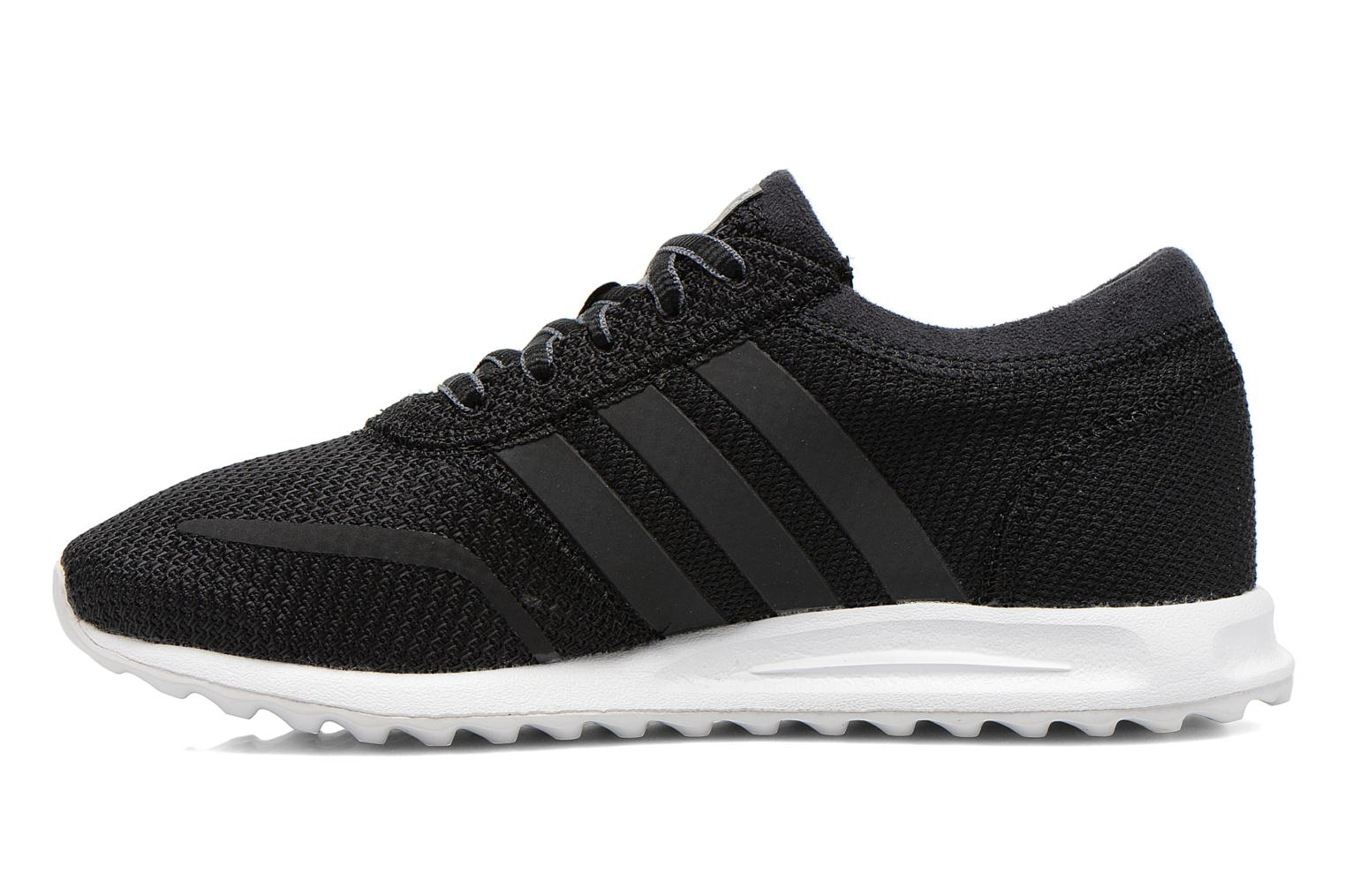 Trainers Adidas Originals Los Angeles K Black front view