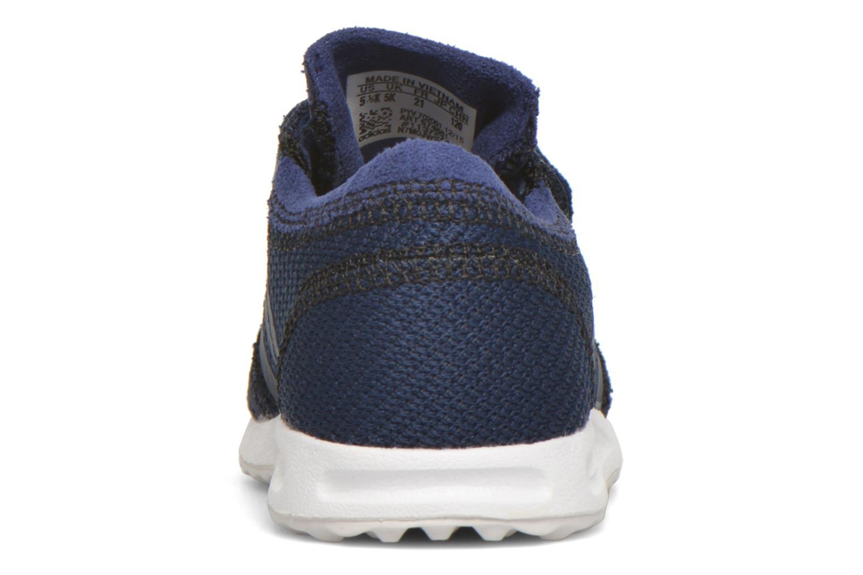 Baskets Adidas Originals Los Angeles Cf I Bleu vue droite