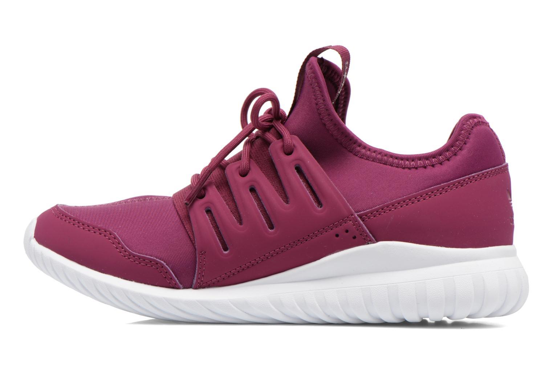 Trainers Adidas Originals Tubular Radial K Purple front view