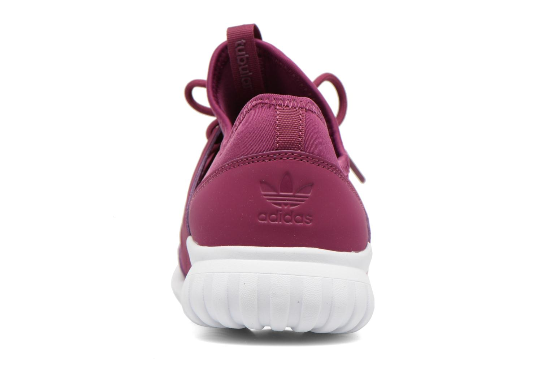 Baskets Adidas Originals Tubular Radial K Violet vue droite