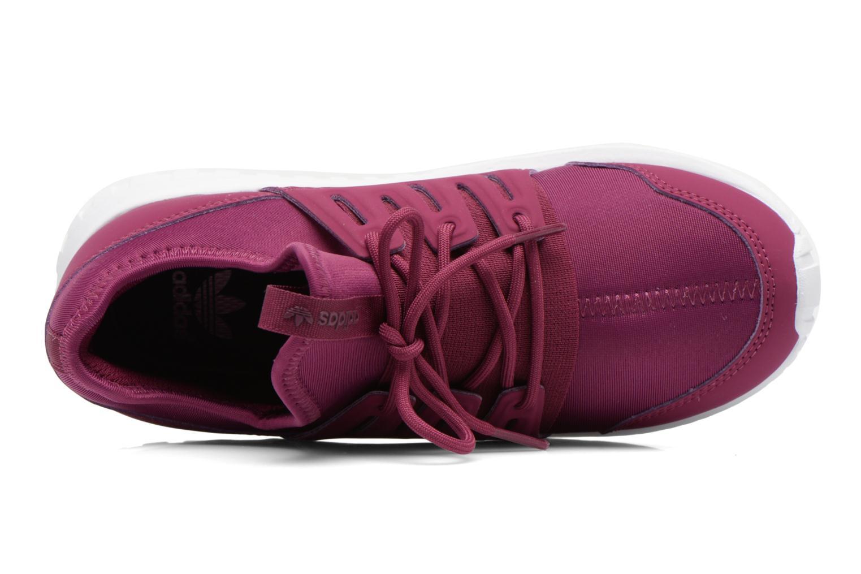 Deportivas Adidas Originals Tubular Radial K Violeta      vista lateral izquierda