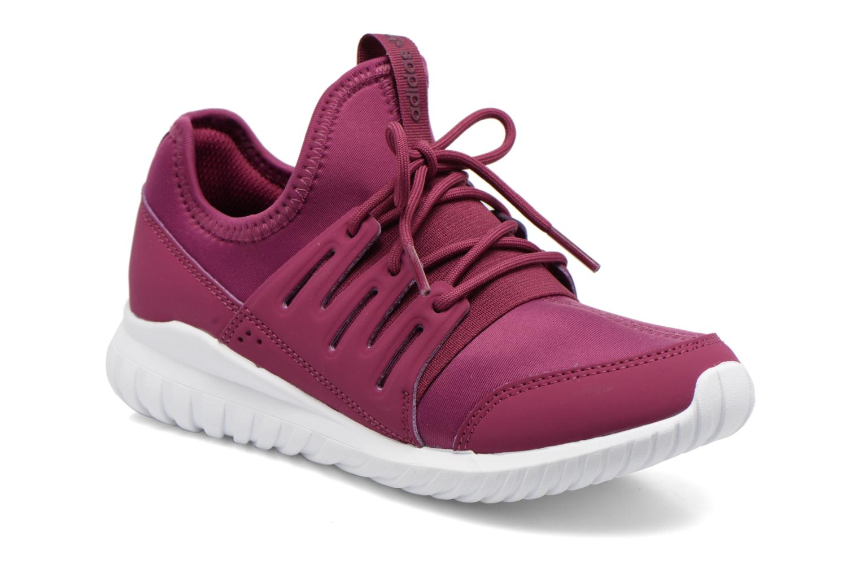 Baskets Adidas Originals Tubular Radial K Violet vue détail/paire