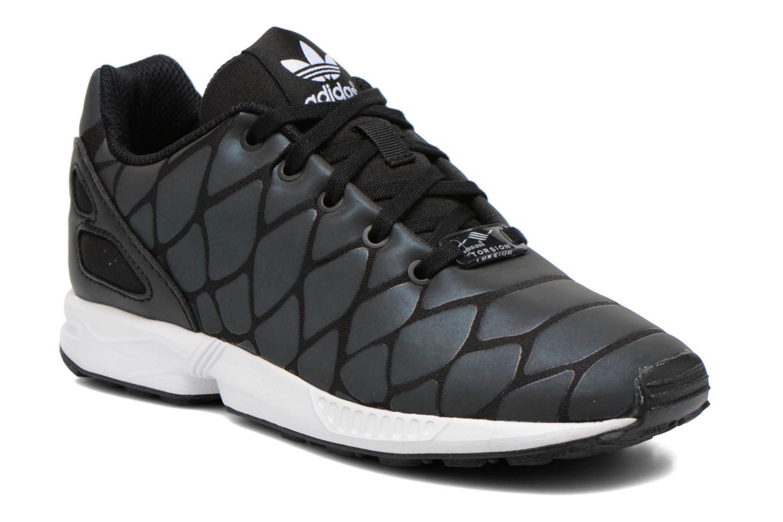 Baskets Adidas Originals Zx Flux Xenopeltis K Noir vue détail/paire