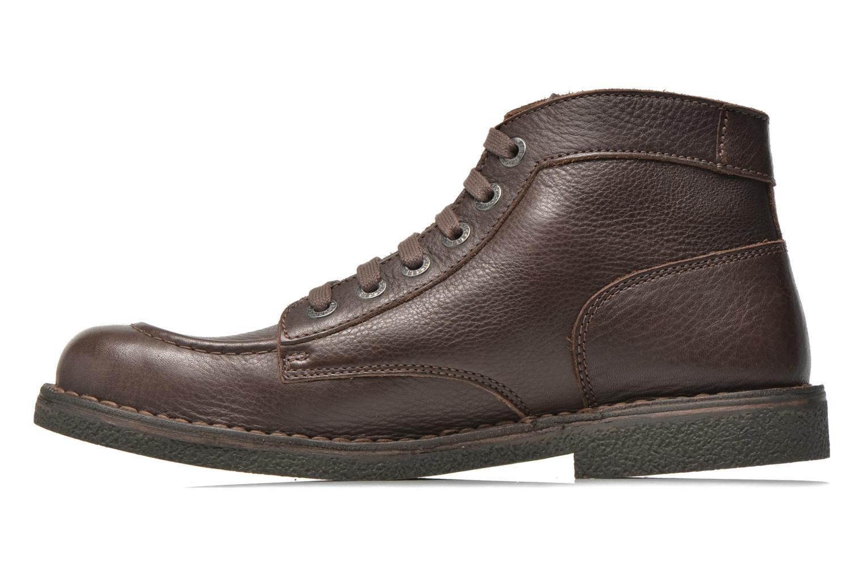 Bottines et boots Kickers Kickstoner Marron vue face