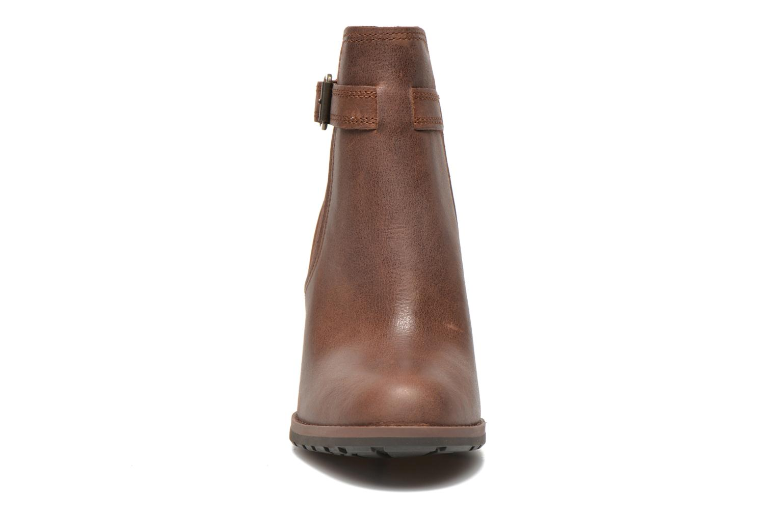 Bottines et boots Timberland Stratham Heights Double Marron vue portées chaussures