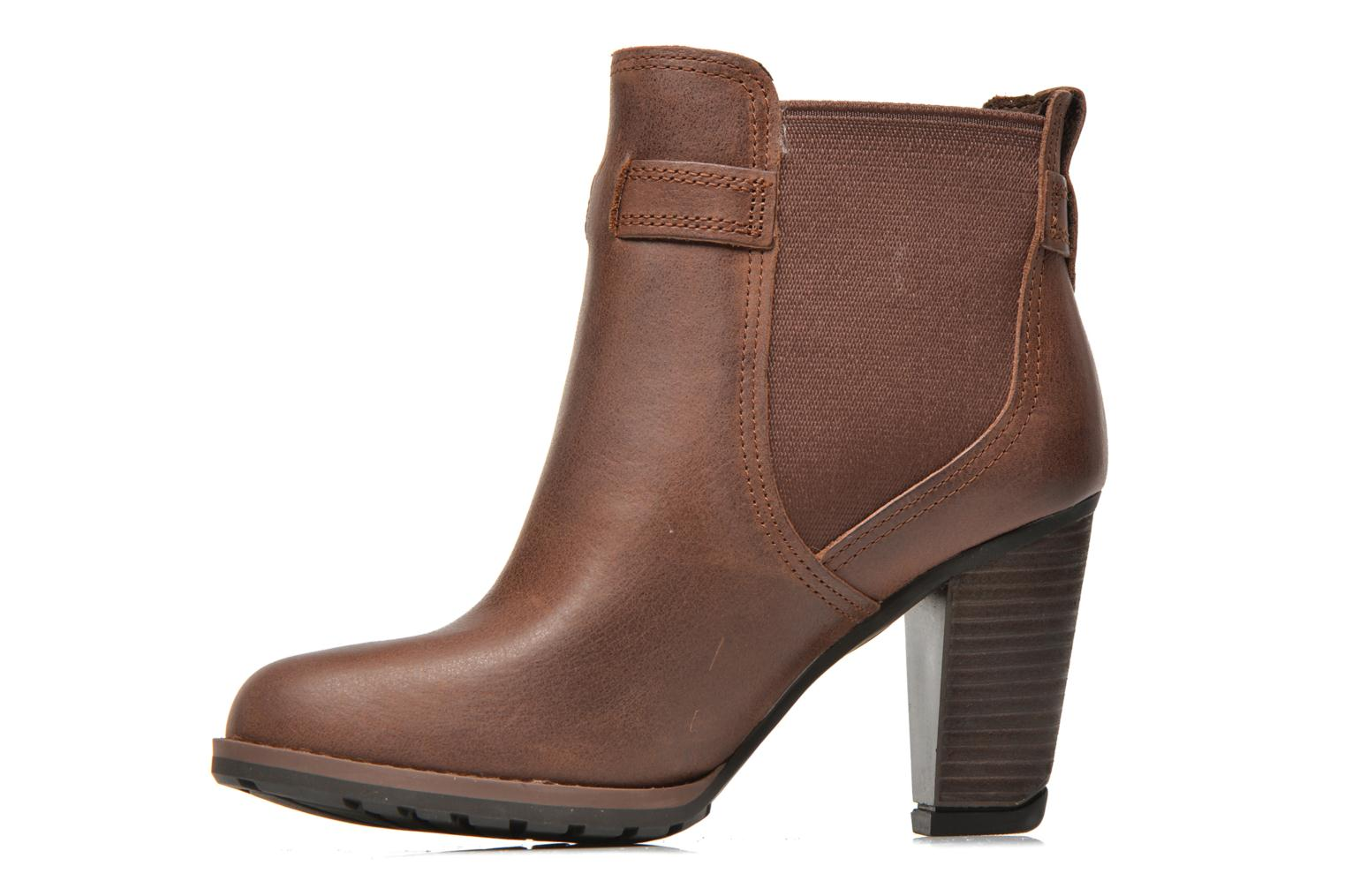 Bottines et boots Timberland Stratham Heights Double Marron vue face