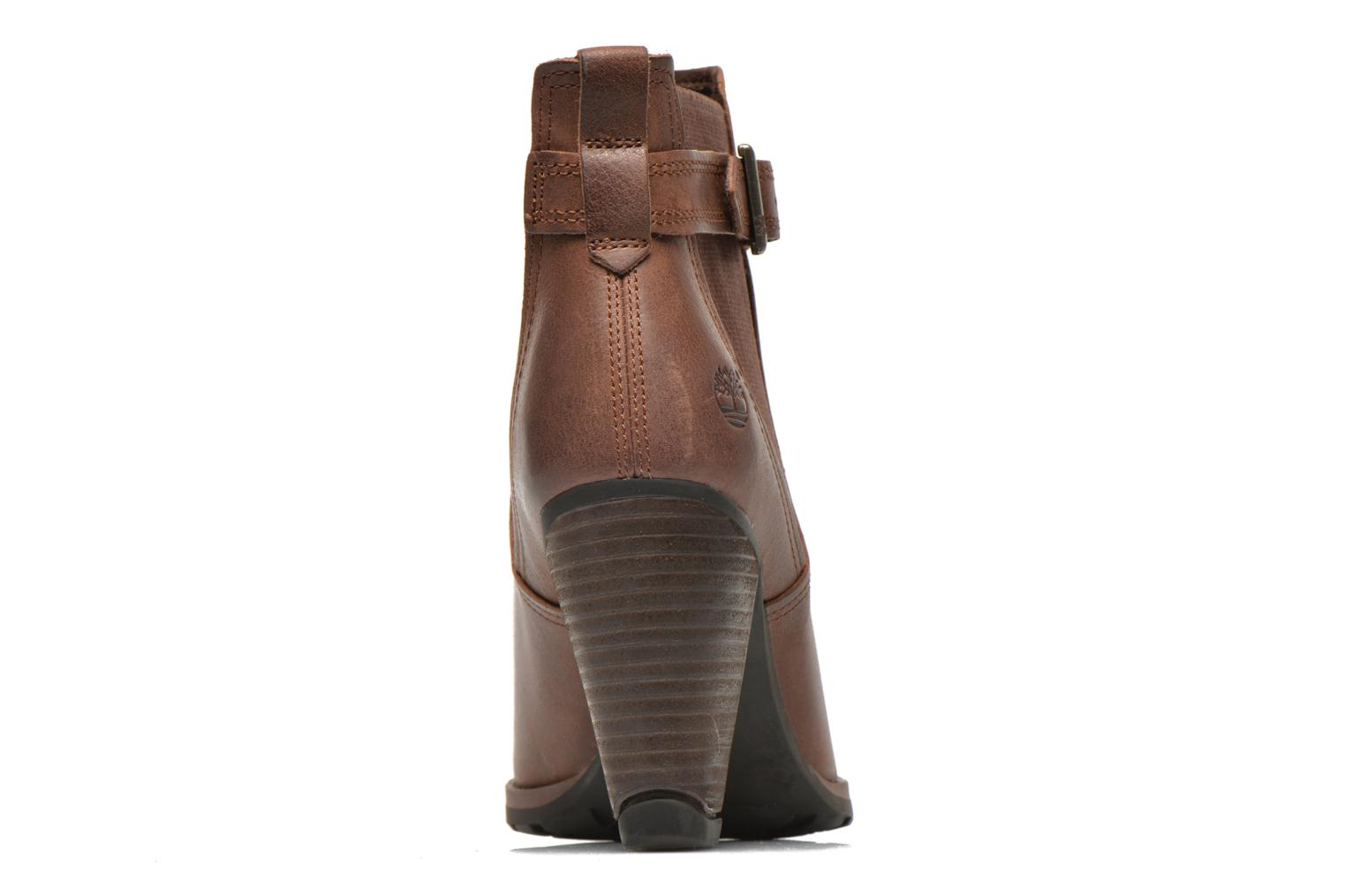Ankle boots Timberland Stratham Heights Double Brown view from the right