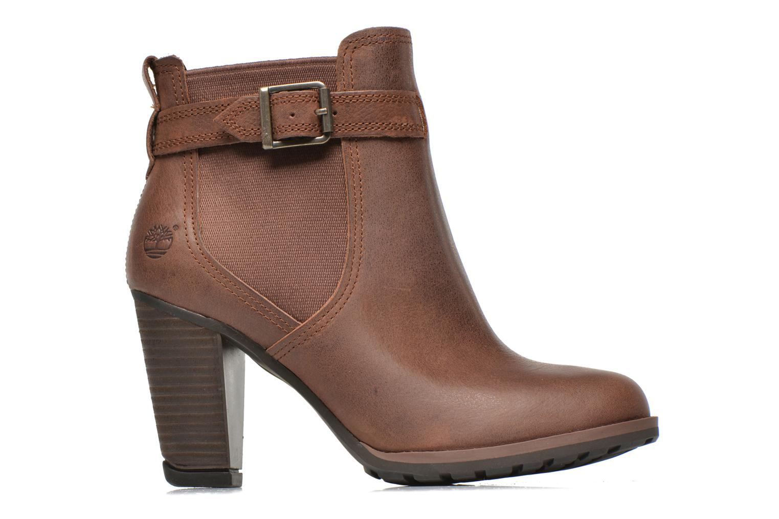 Ankle boots Timberland Stratham Heights Double Brown back view