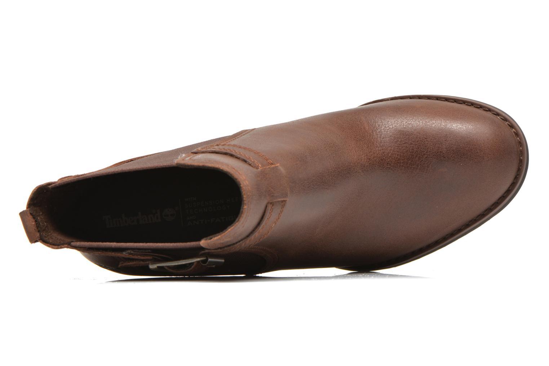 Bottines et boots Timberland Stratham Heights Double Marron vue gauche