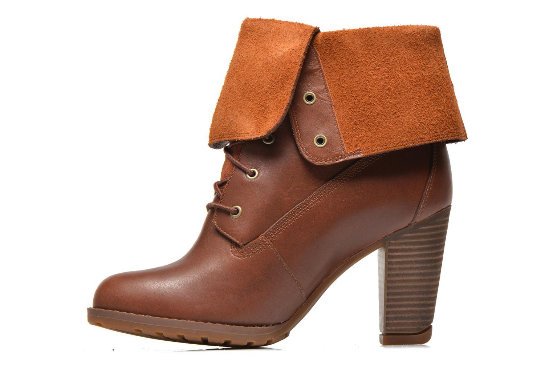 Stiefeletten & Boots Timberland Stratham Heigts braun ansicht von vorne