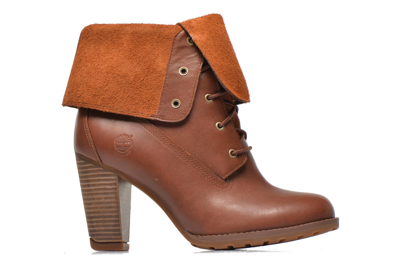 Stiefeletten & Boots Timberland Stratham Heigts braun ansicht von hinten