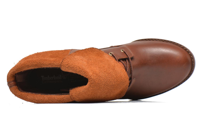 Stiefeletten & Boots Timberland Stratham Heigts braun ansicht von links