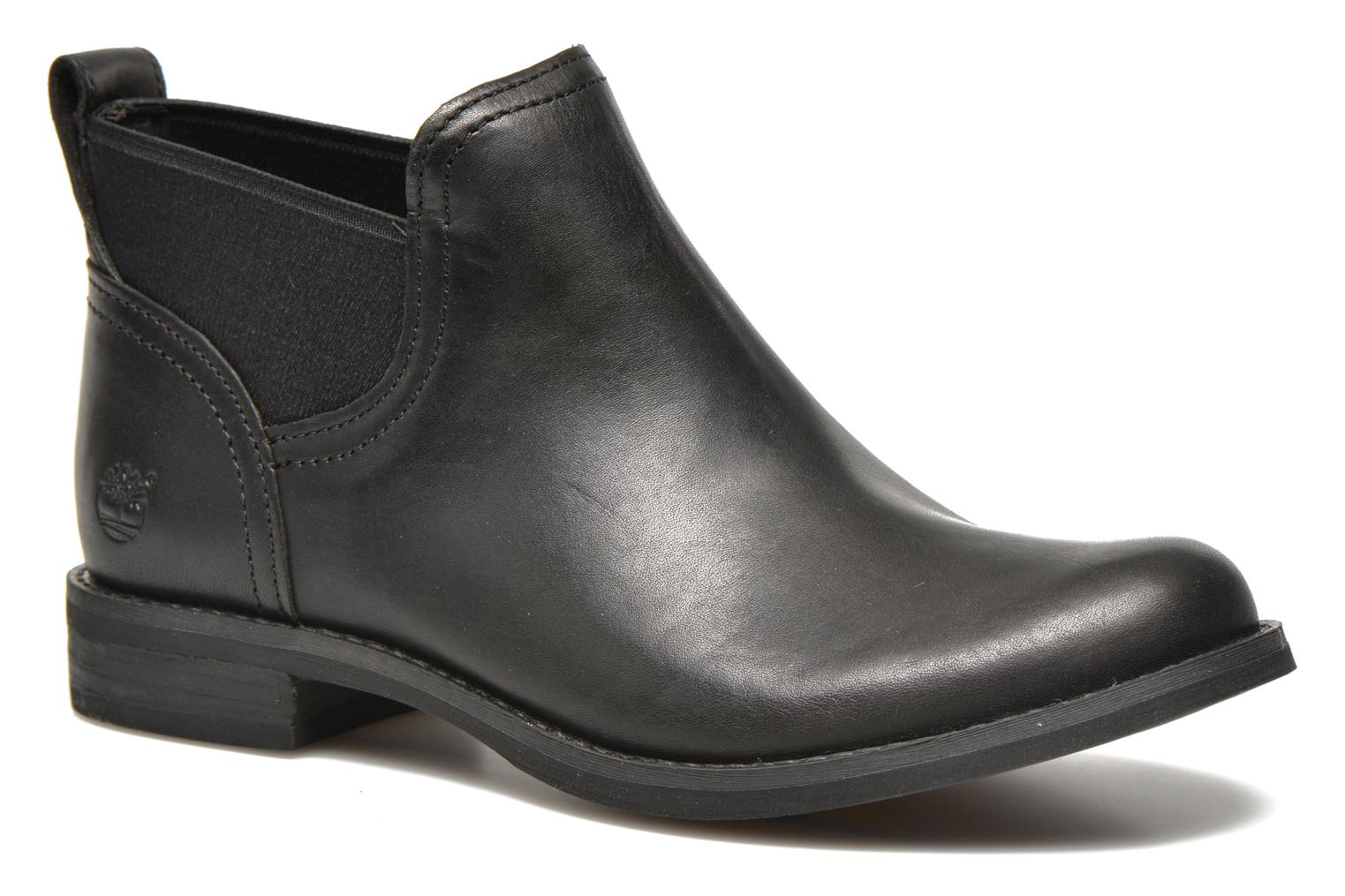 Savin Hill Gore Ankle Boot Black