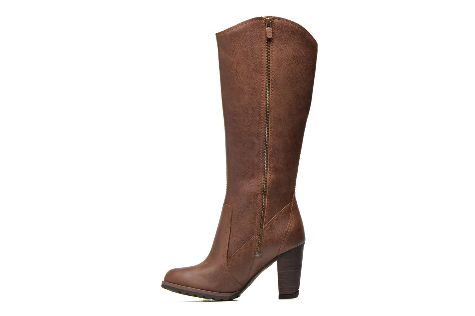 Bottes Timberland Stratham Heights Tal Marron vue face