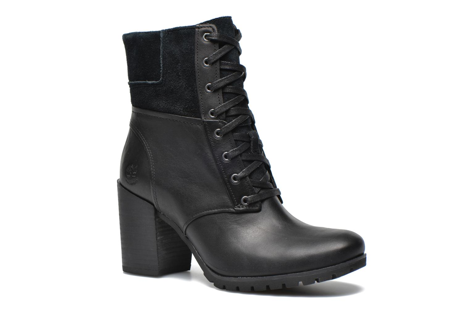 Ankle boots Timberland Swazey Warm Lined Waterproof Black detailed view/  Pair view