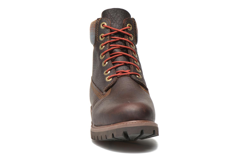 """Bottines et boots Timberland Icon 6"""" Premium Boot Marron vue portées chaussures"""