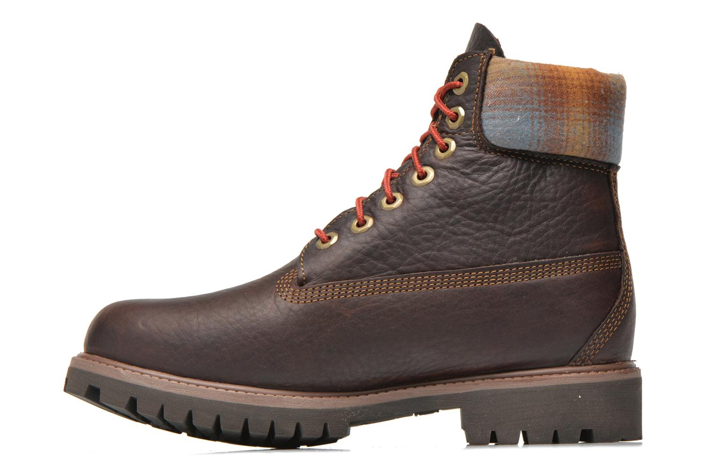 "Bottines et boots Timberland Icon 6"" Premium Boot Marron vue face"