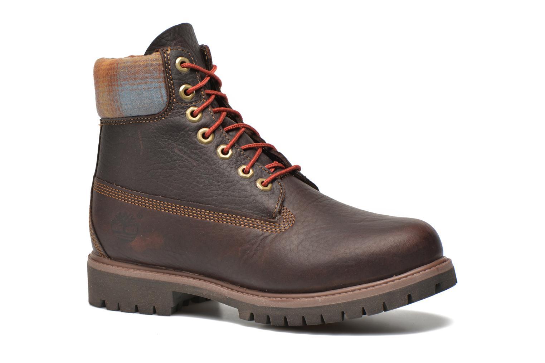 """Bottines et boots Timberland Icon 6"""" Premium Boot Marron vue détail/paire"""