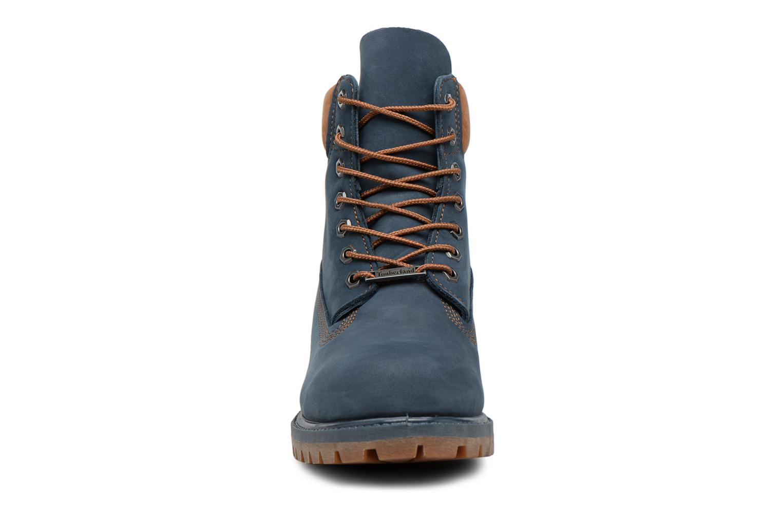 "6"" Premium Boot Midnight Navy Waterbuck"