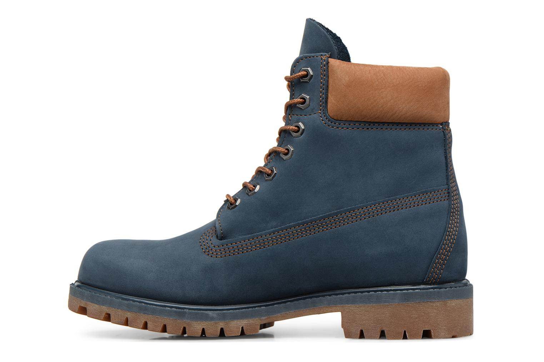 """Bottines et boots Timberland 6"""" Premium Boot Bleu vue face"""