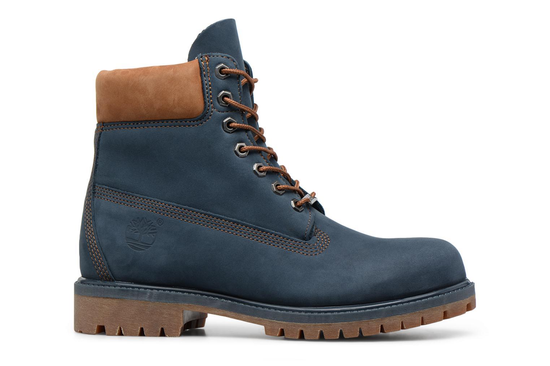 """Botines  Timberland 6"""" Premium Boot Azul vistra trasera"""
