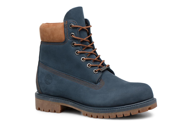 "Botines  Timberland 6"" Premium Boot Azul vista de detalle / par"