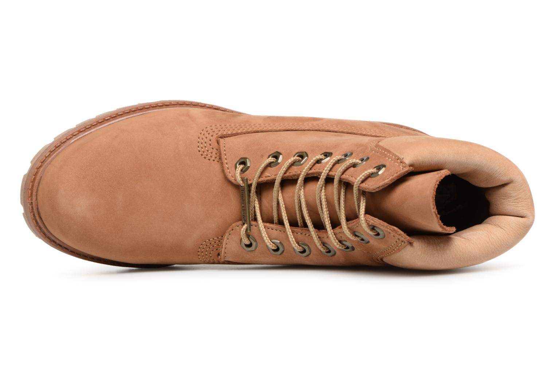 """Stiefeletten & Boots Timberland 6"""" Premium Boot braun ansicht von links"""