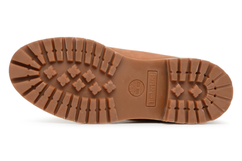 "Bottines et boots Timberland 6"" Premium Boot Marron vue haut"