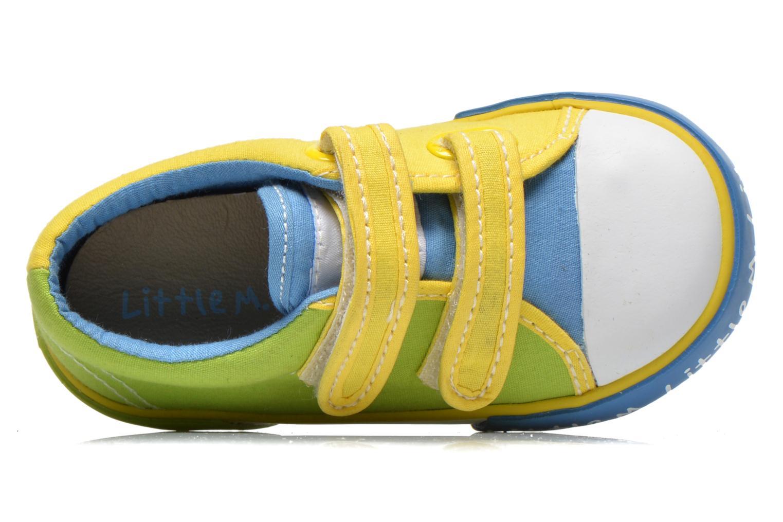 Baskets Little Mary Little Sneakers Vert vue gauche