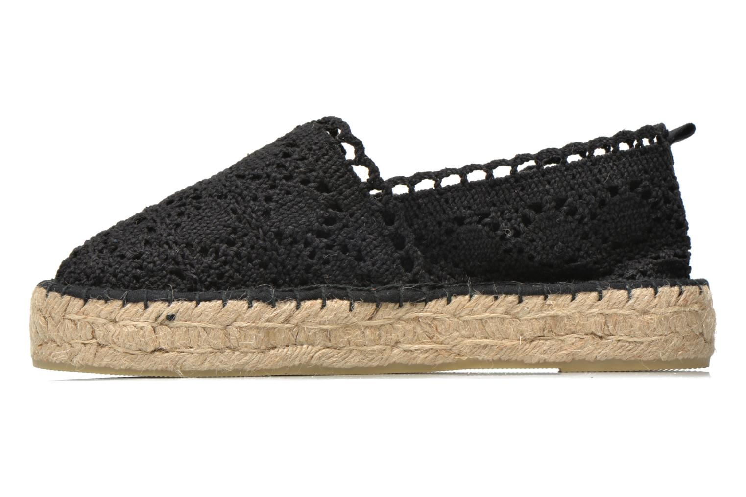 Espadrilles Colors of California Lara 2 Black front view