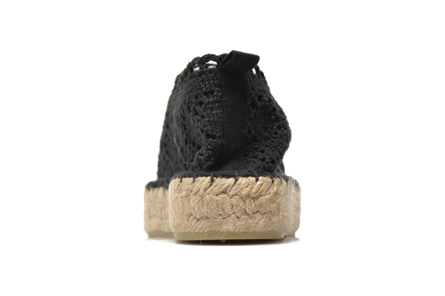 Espadrilles Colors of California Lara 2 Black view from the right
