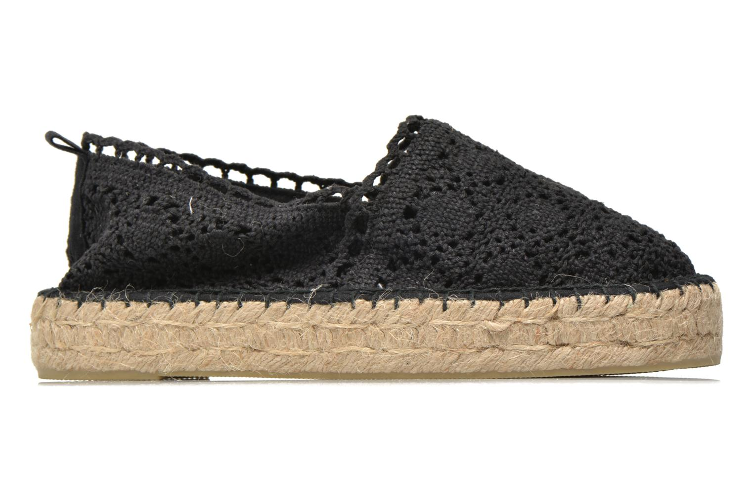 Espadrilles Colors of California Lara 2 Black back view