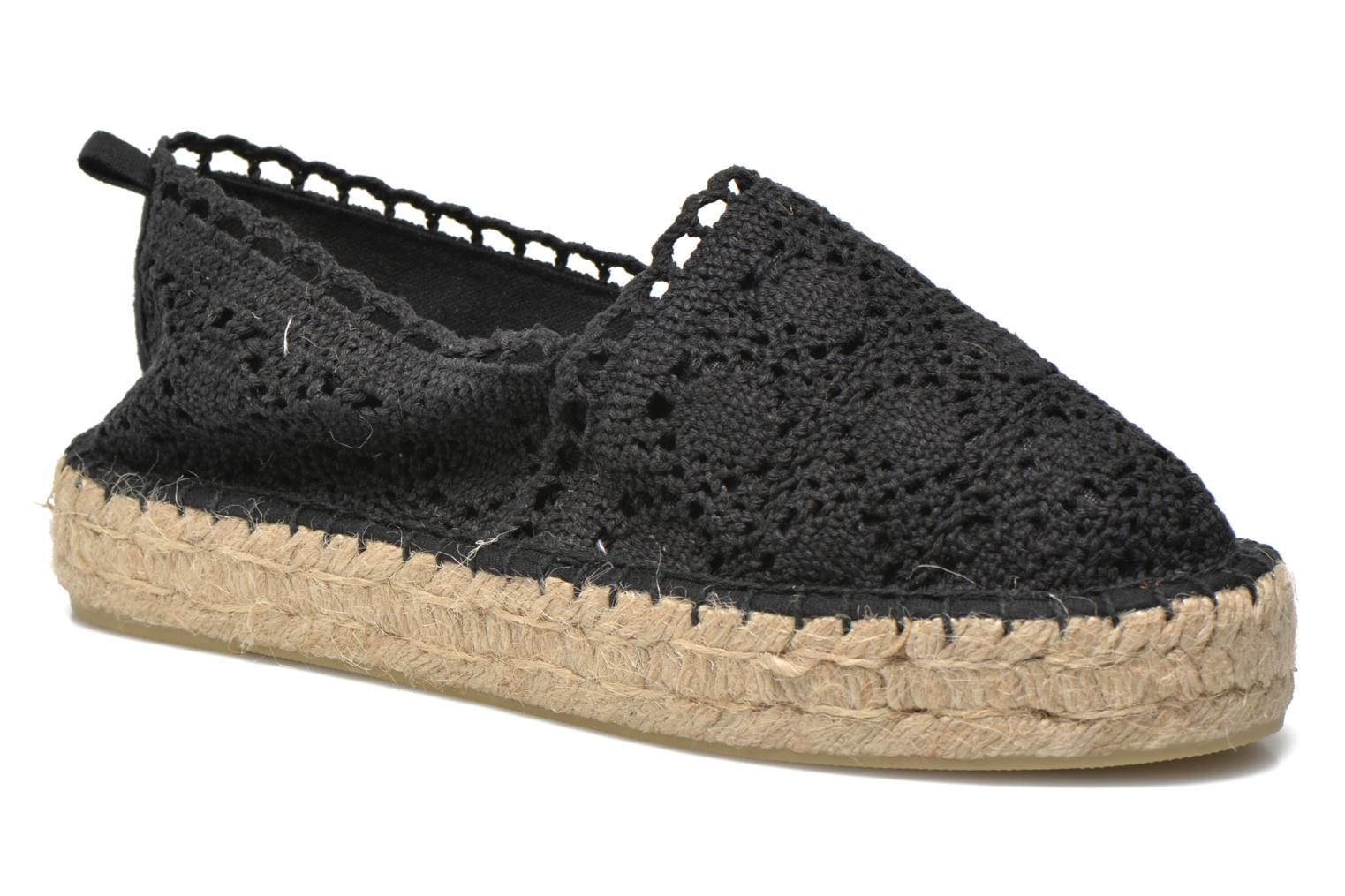 Espadrilles Colors of California Lara 2 Black detailed view/ Pair view